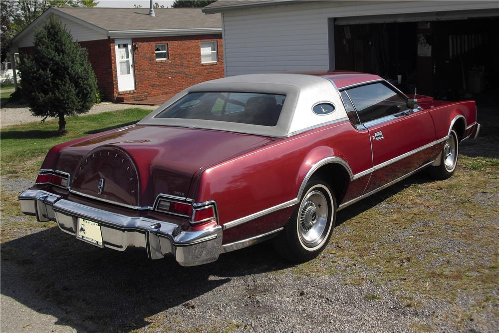 1976 LINCOLN CONTINENTAL MARK IV HARDTOP - 184312