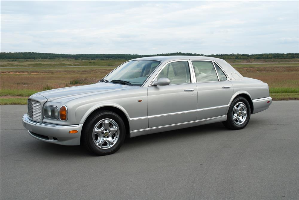 1999 BENTLEY ARNAGE GREEN LABEL TURBO - Front 3/4 - 184329