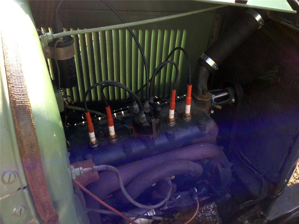 1931 FORD 5 WINDOW COUPE - Engine - 184341