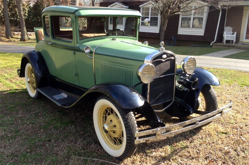 1931 FORD 5 WINDOW COUPE - Front 3/4 - 184341