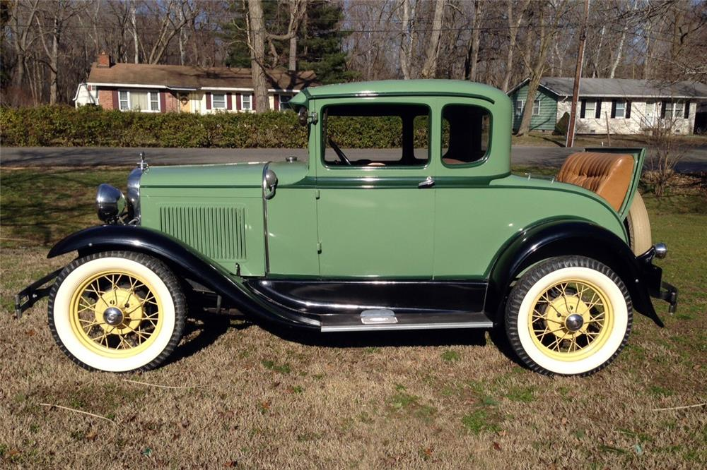 1931 ford 5 window coupe 184341