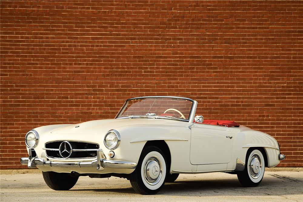1959 mercedes benz 190sl roadster 184347