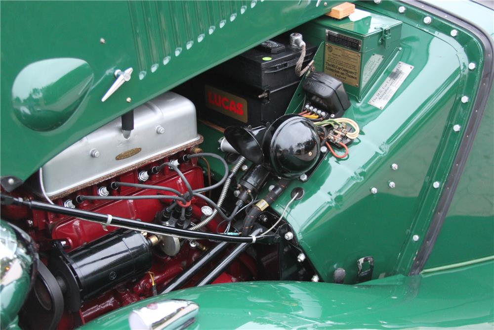 1953 MG TD ROADSTER - Engine - 184364