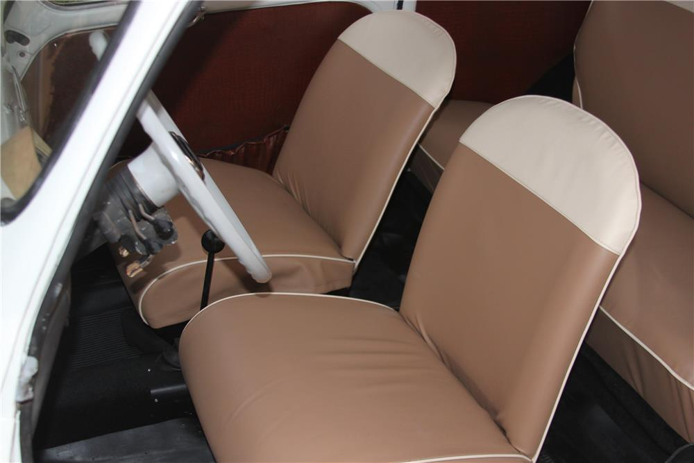 1960 FIAT 600 COUPE - Interior - 184367