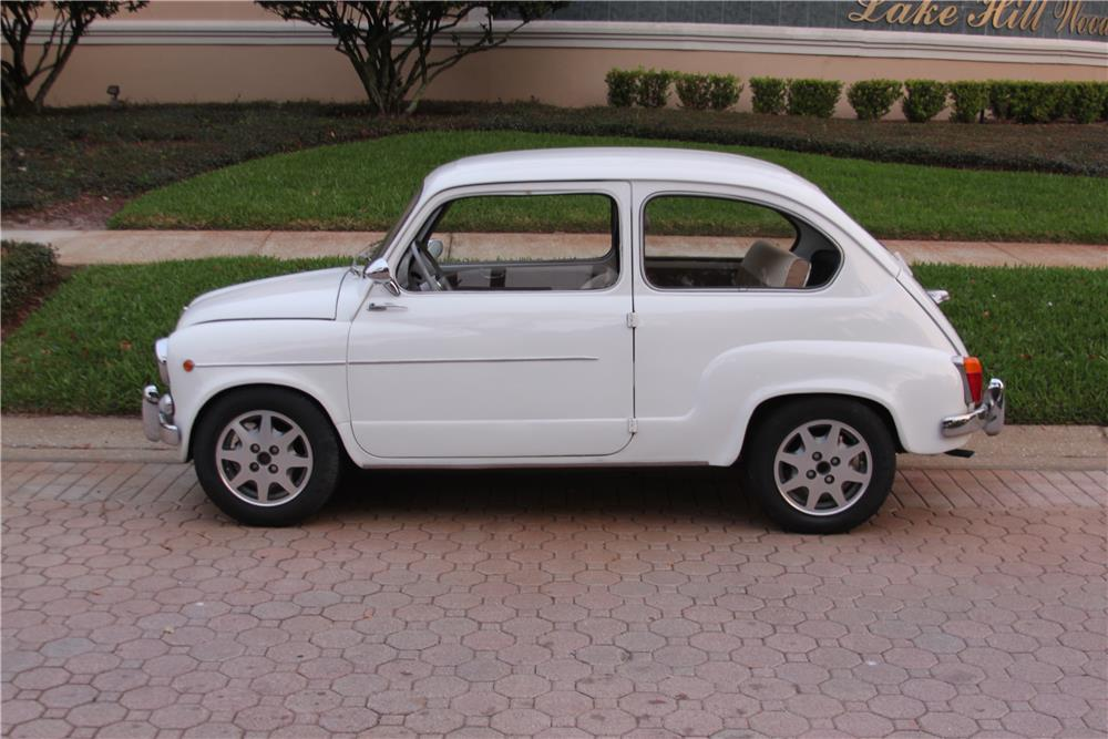 1960 FIAT 600 COUPE - Side Profile - 184367