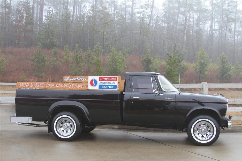 1961 STUDEBAKER CHAMP PICKUP - Side Profile - 184375