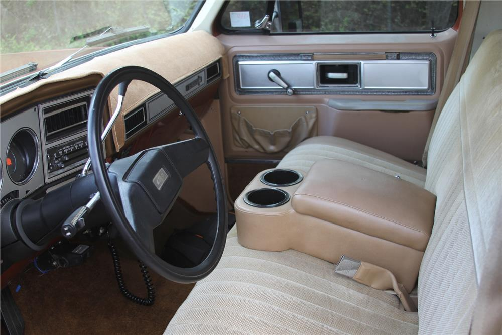 1978 CHEVROLET SUBURBAN CUSTOM SUV - Interior - 184378