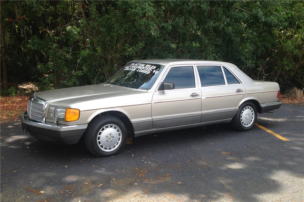 1986 mercedes benz 420sel 184383 for Mercedes benz financial address for insurance