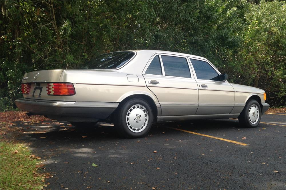 1986 mercedes benz 420sel 184383 for Mercedes benz financial contact number