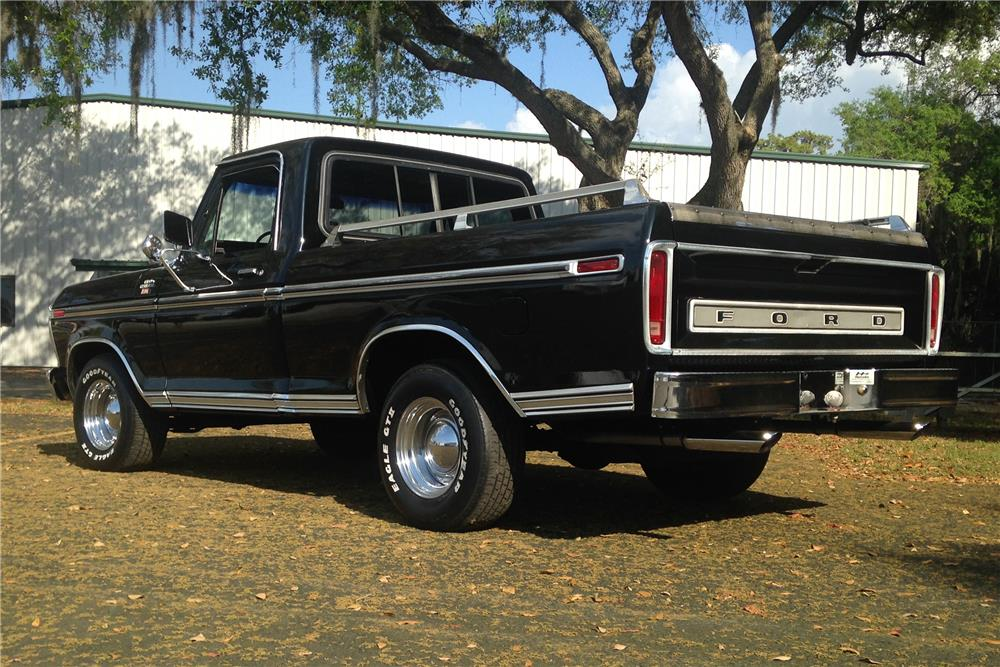 1979 FORD F-100 PICKUP - Rear 3/4 - 184385