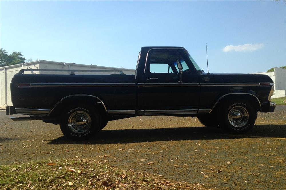 1979 FORD F-100 PICKUP - Side Profile - 184385