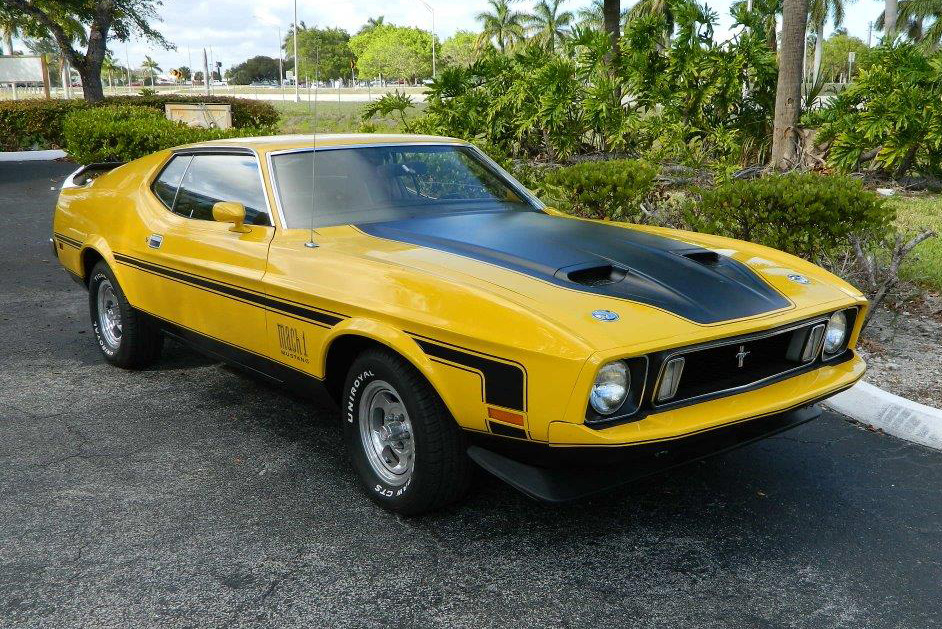 1973 ford mustang mach 1 fastback 184393. Black Bedroom Furniture Sets. Home Design Ideas
