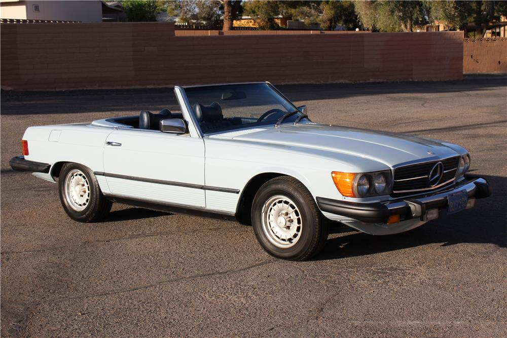 1977 mercedes benz 450sl convertible 184395