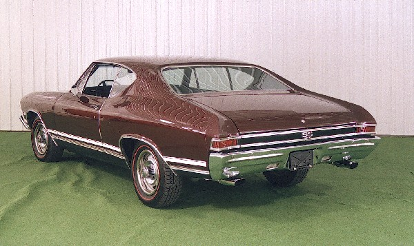 1968 CHEVROLET CHEVELLE SS 396 COUPE - 18442