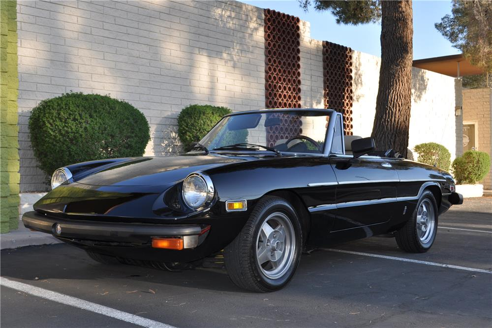 1978 alfa romeo spider veloce convertible 184448. Black Bedroom Furniture Sets. Home Design Ideas
