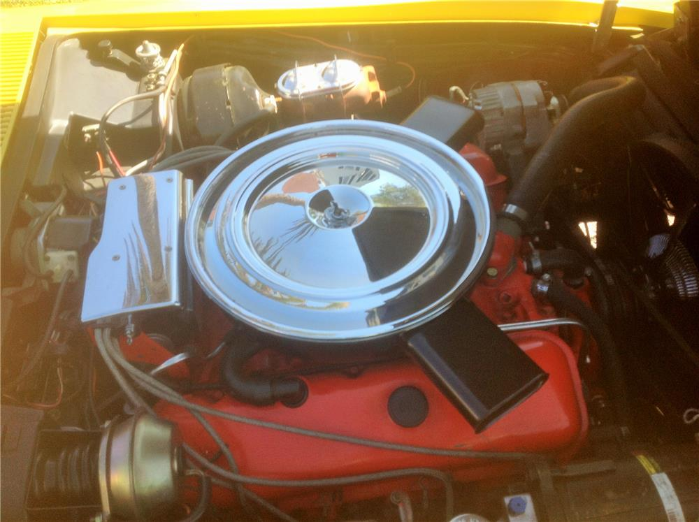 1972 CHEVROLET CORVETTE CONVERTIBLE - Engine - 184452