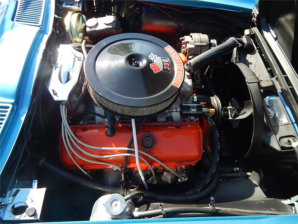 1965 CHEVROLET CORVETTE L78 CONVERTIBLE - Engine - 184462