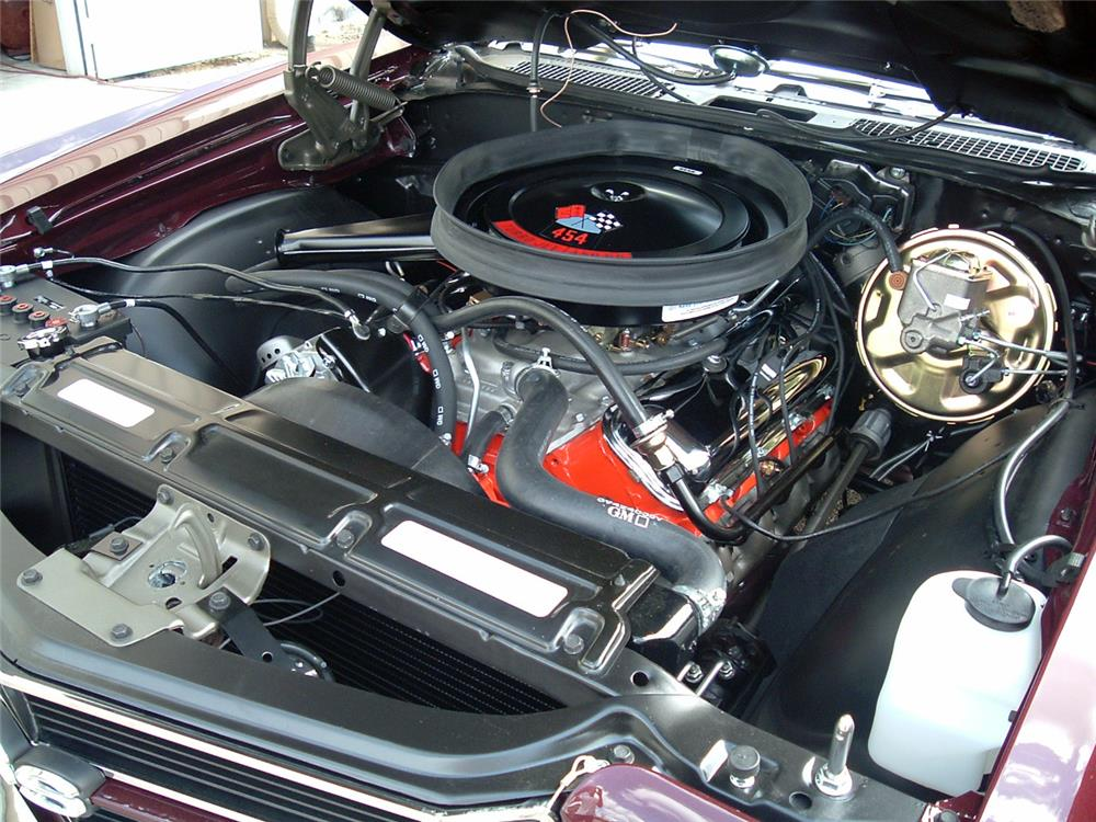 1970 CHEVROLET CHEVELLE CONVERTIBLE - Engine - 184471