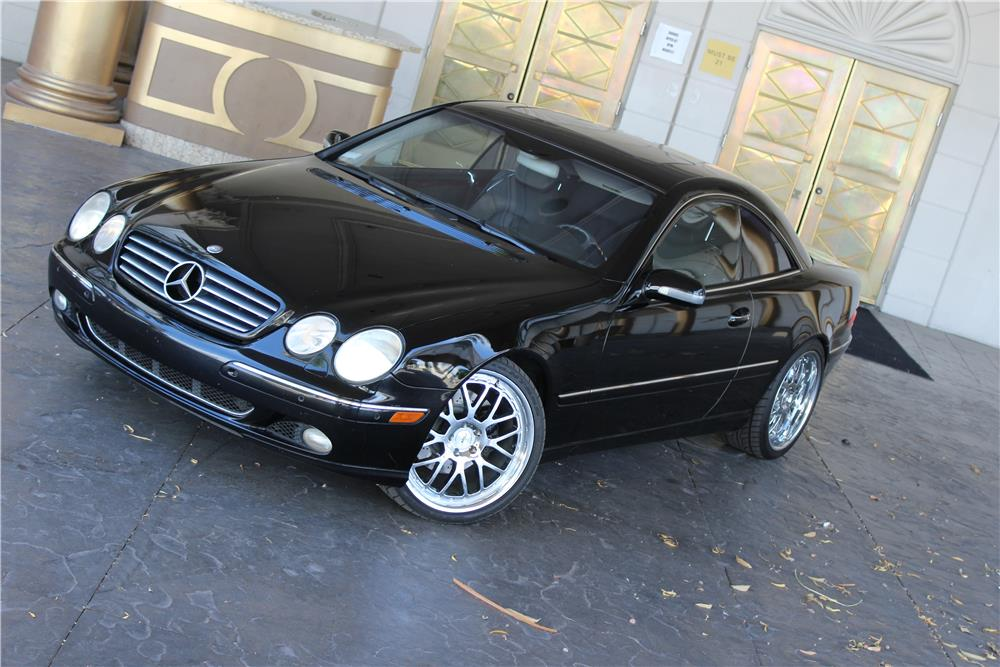 2000 MERCEDES-BENZ CL500 COUPE - Front 3/4 - 184514