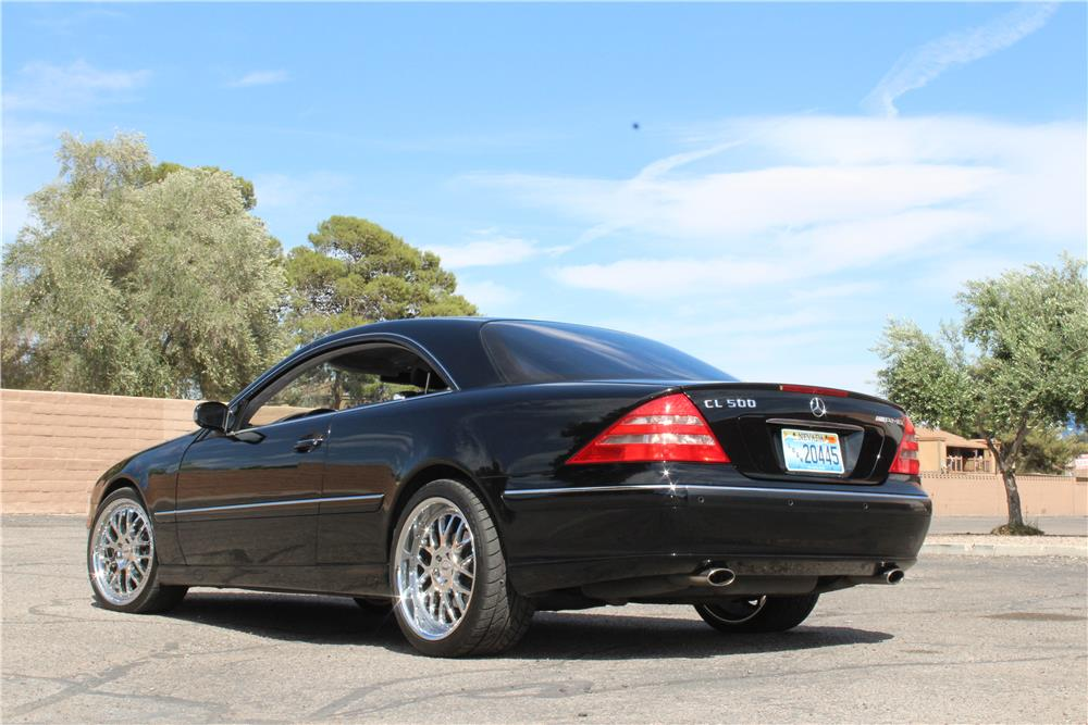 2000 MERCEDES-BENZ CL500 COUPE - Rear 3/4 - 184514