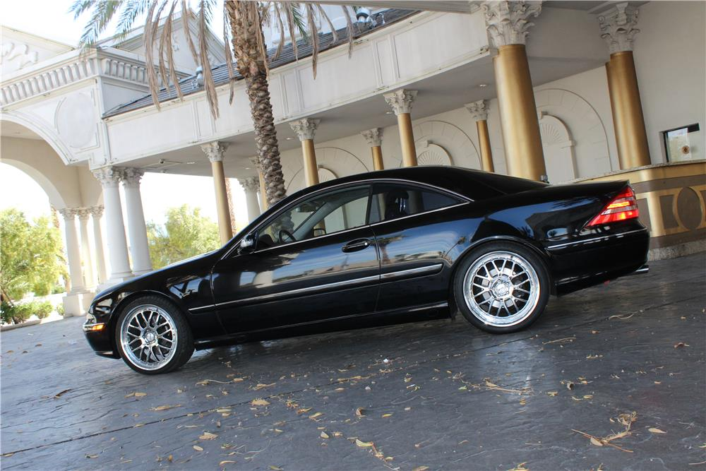2000 MERCEDES-BENZ CL500 COUPE - Side Profile - 184514