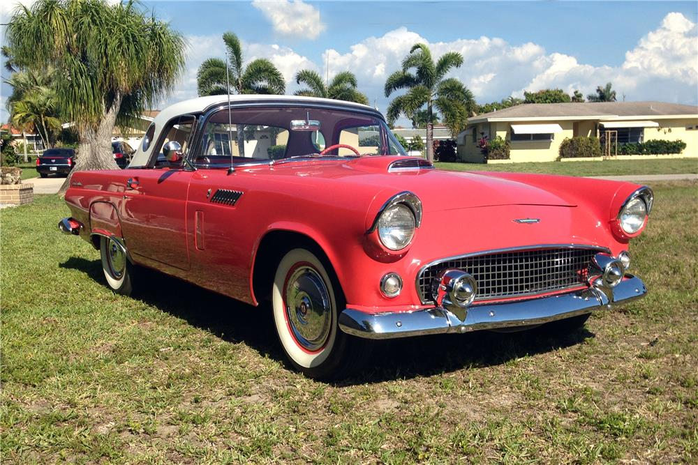 Palm Bay Ford >> 1956 FORD THUNDERBIRD CONVERTIBLE - 184524