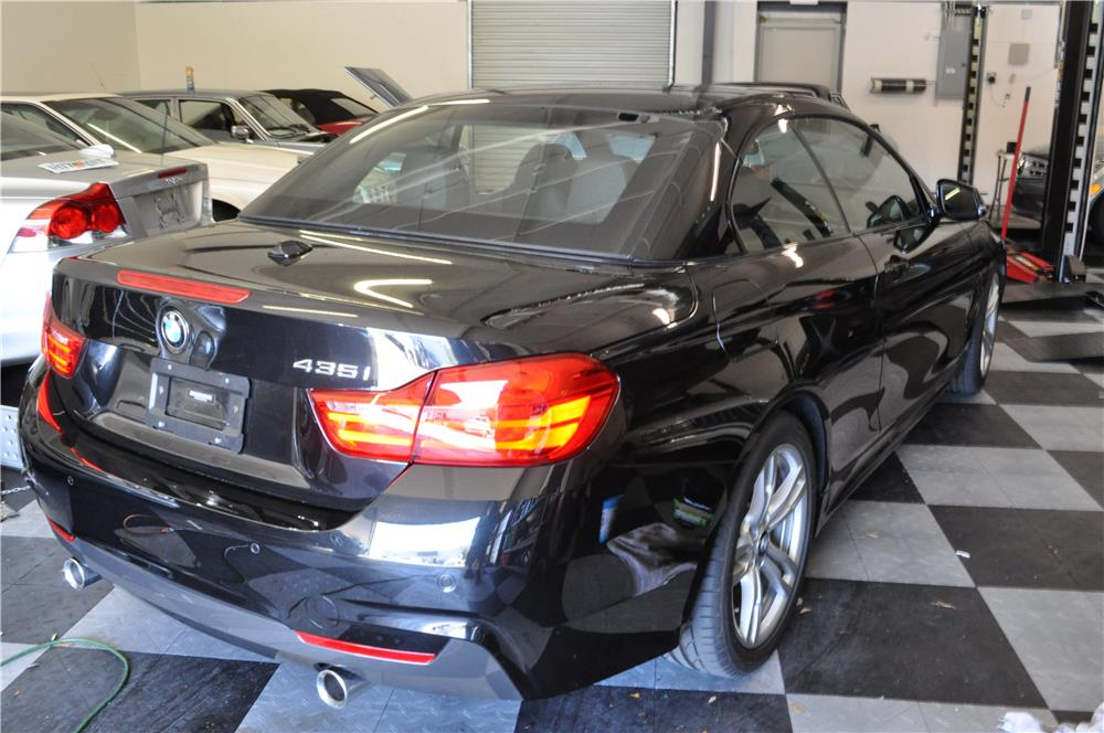 2014 BMW 435I CONVERTIBLE - Rear 3/4 - 184525