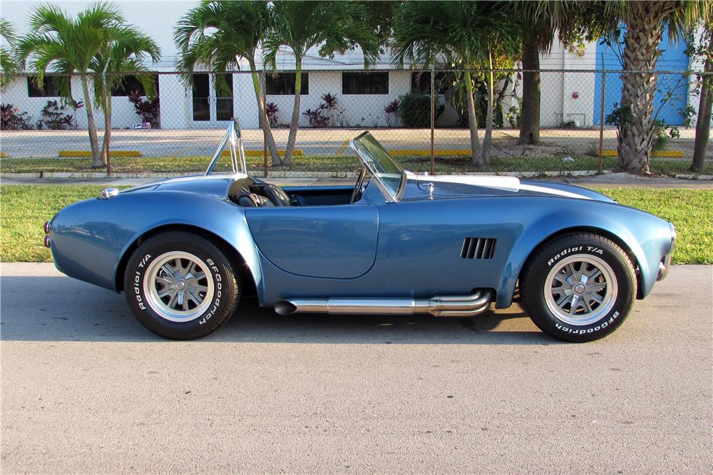 2012 FACTORY FIVE COBRA RE-CREATION ROADSTER - Side Profile - 184539