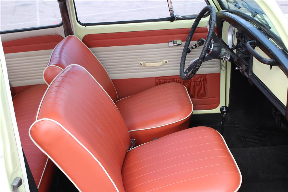 1970 VOLKSWAGEN BEETLE COUPE - Interior - 184541