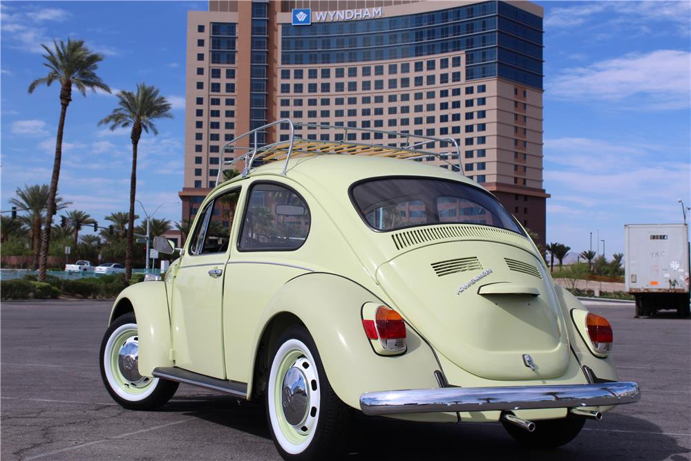1970 VOLKSWAGEN BEETLE COUPE - Rear 3/4 - 184541