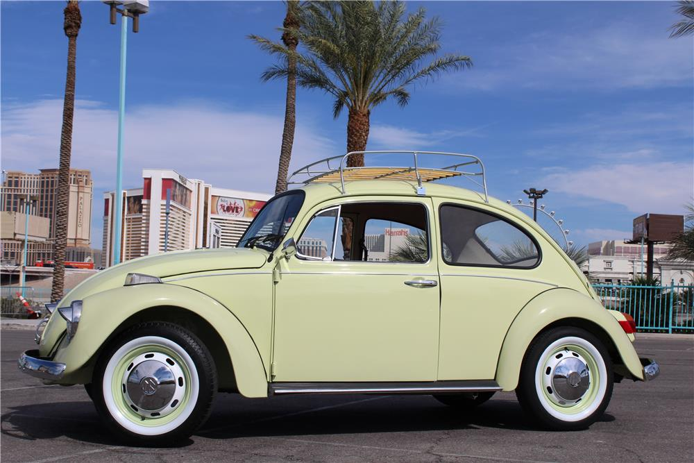 1970 VOLKSWAGEN BEETLE COUPE - Side Profile - 184541