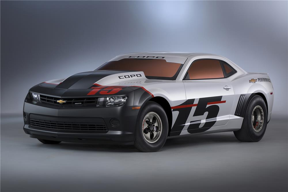 Lot #3003 2015 CHEVROLET CAMARO COPO RACE CAR