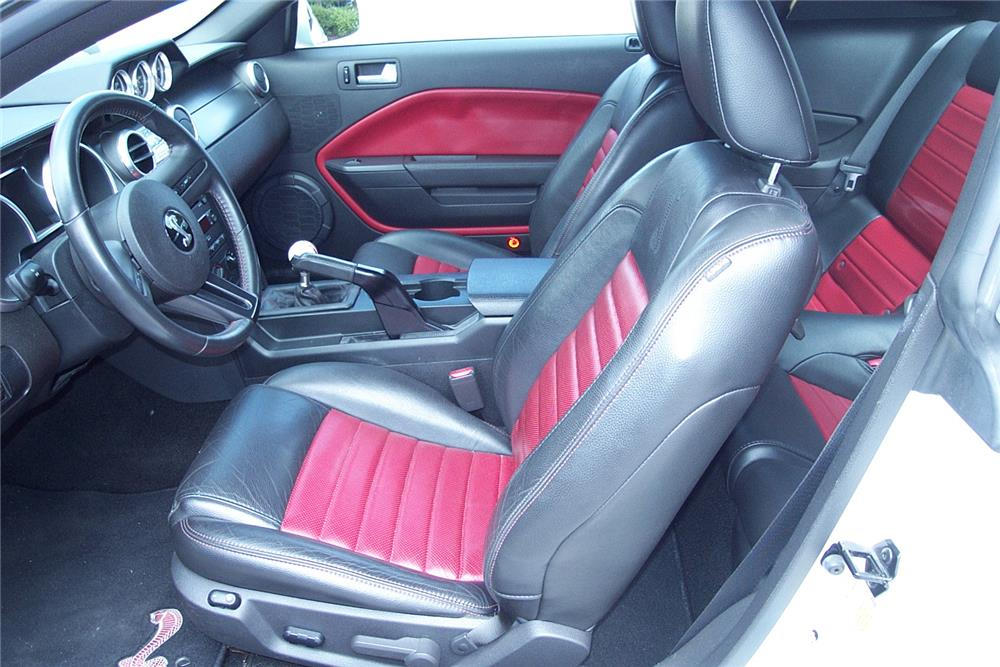 2007 FORD MUSTANG SHELBY GT500 COUPE - Interior - 184550
