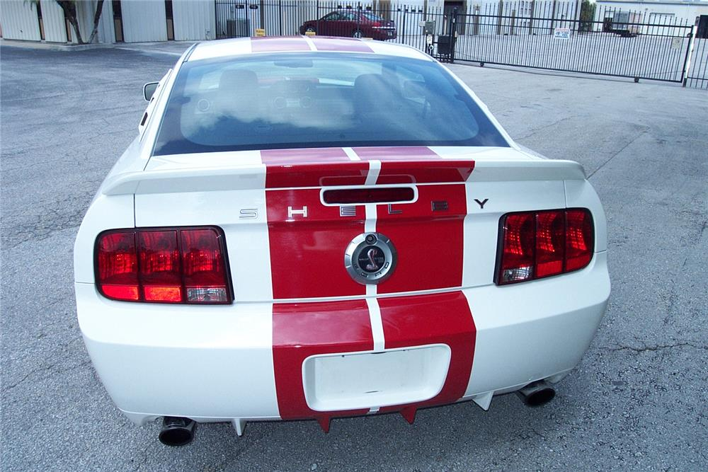 2007 FORD MUSTANG SHELBY GT500 COUPE - Side Profile - 184550