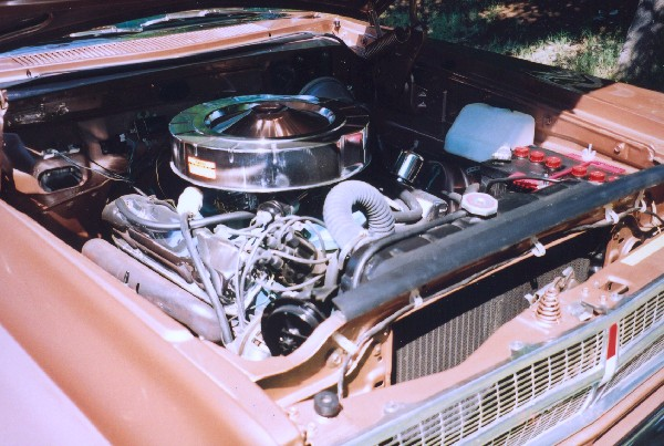 1965 PLYMOUTH SPORT SATELLITE 426 WEDGE - Engine - 18458