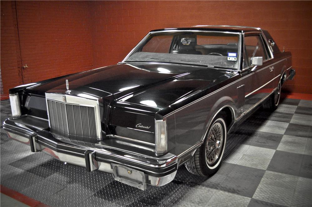 1983 LINCOLN CONTINENTAL MARK VI - Front 3/4 - 184630