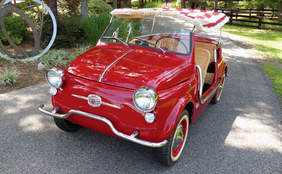 1959 FIAT JOLLY - Front 3/4 - 184785