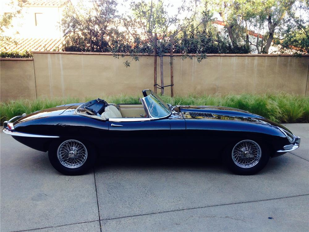 1967 JAGUAR XKE SERIES I ROADSTER - Side Profile - 184872