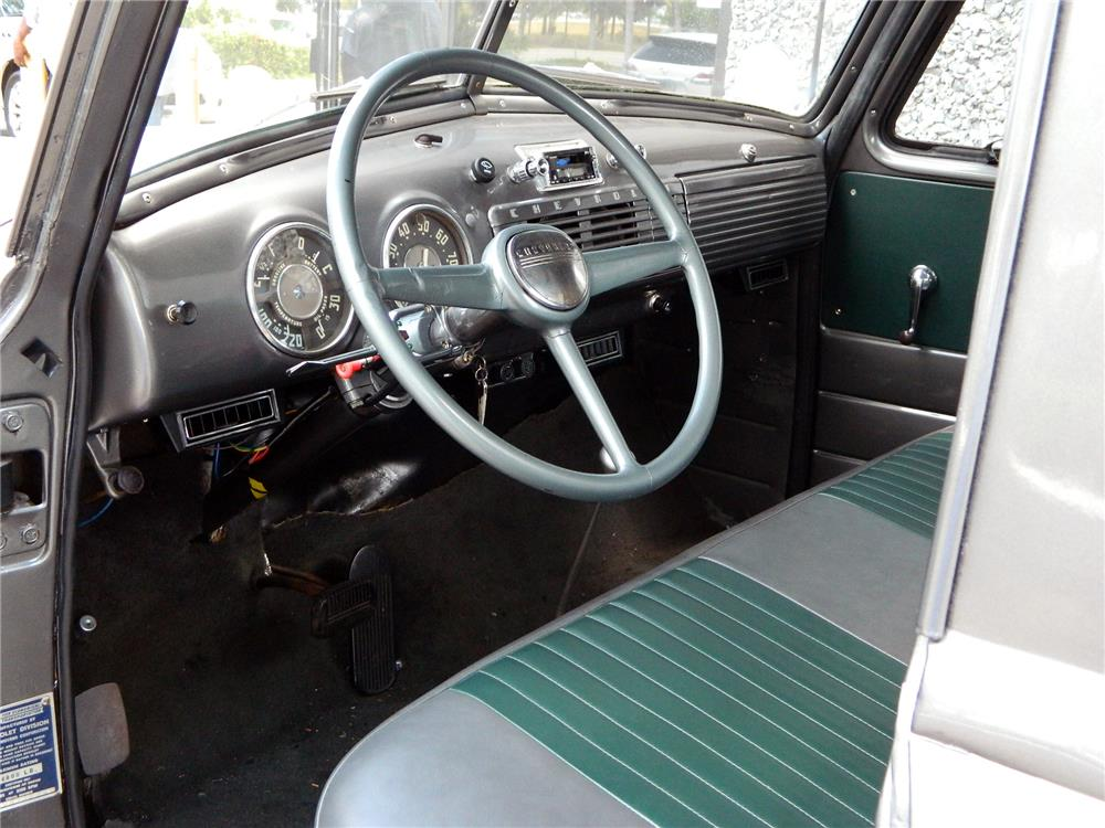 1953 CHEVROLET 3100 PICKUP - Interior - 184896