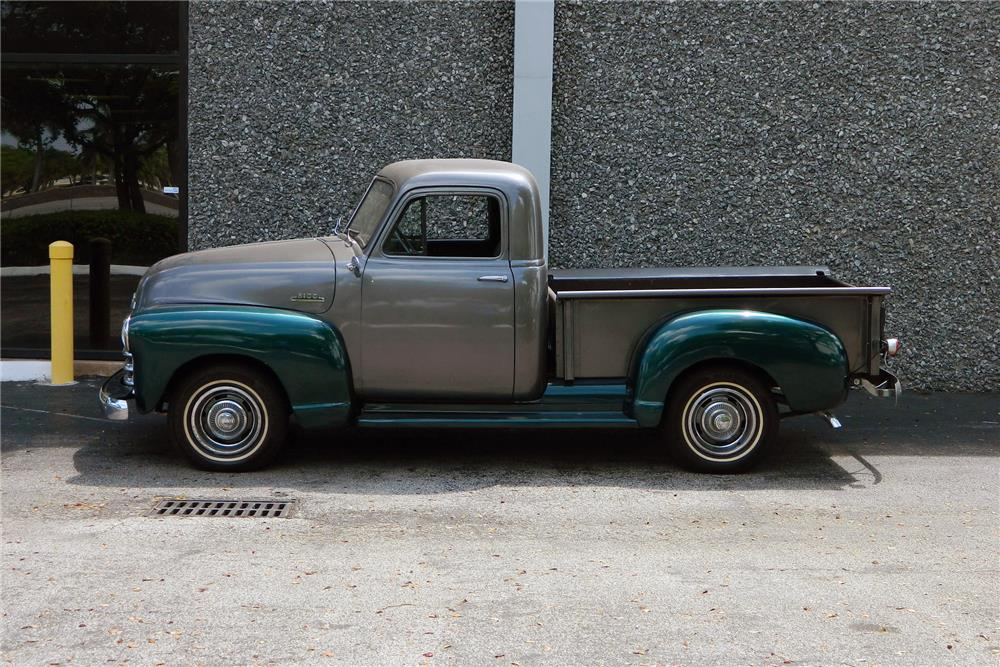1953 CHEVROLET 3100 PICKUP - Side Profile - 184896