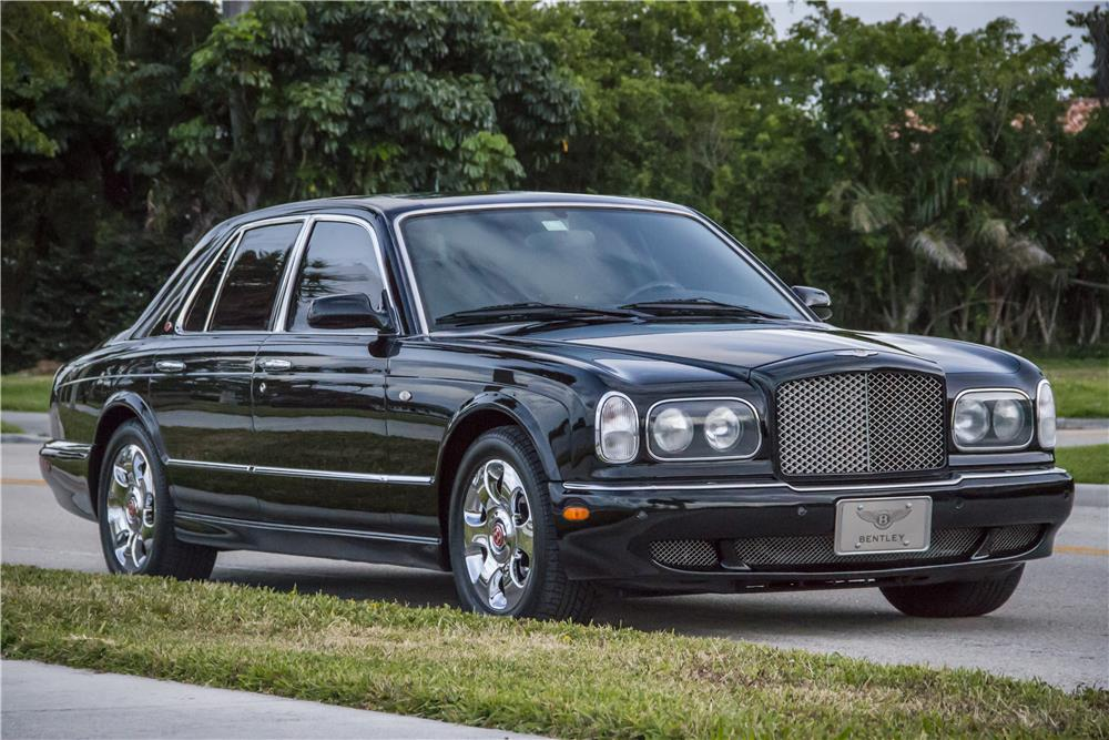 2000 BENTLEY ARNAGE RED LABEL TURBO SEDAN - Front 3/4 - 184904