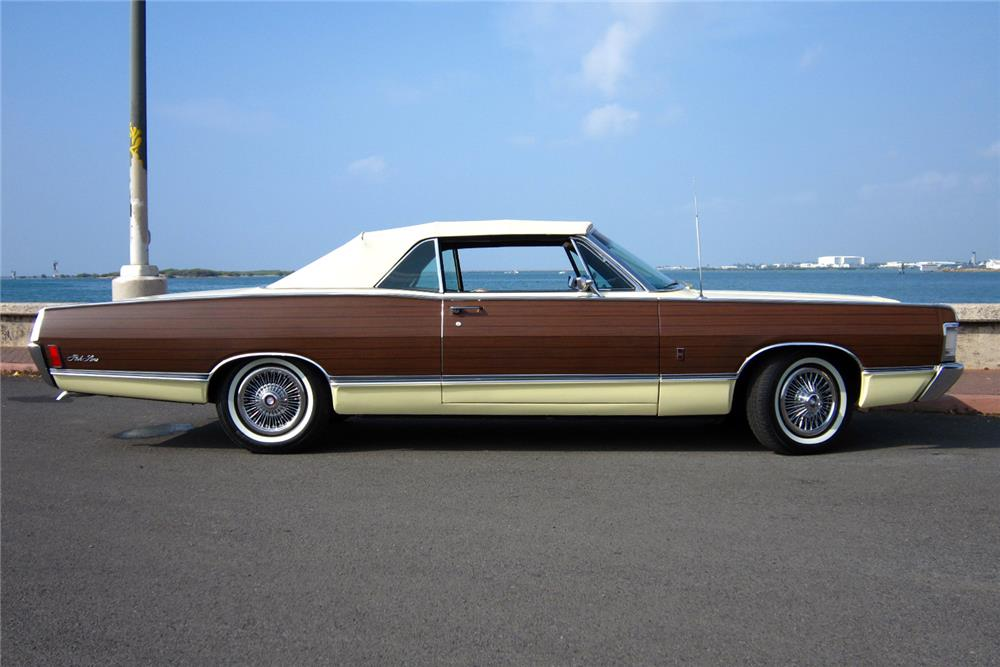1968 MERCURY PARKLANE CONVERTIBLE - Side Profile - 184910