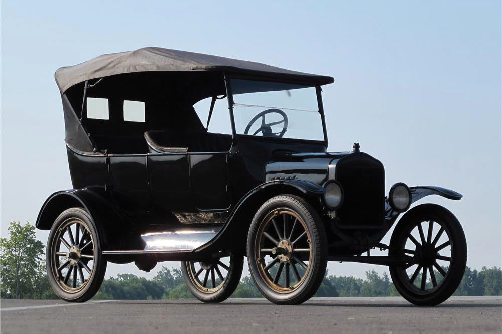 1925 FORD MODEL T CONVERTIBLE - Front 3/4 - 184916