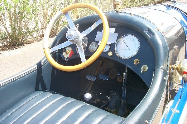 1920 PAIGE 6-66 5.4 LITER RECORD CAR - Interior - 18493