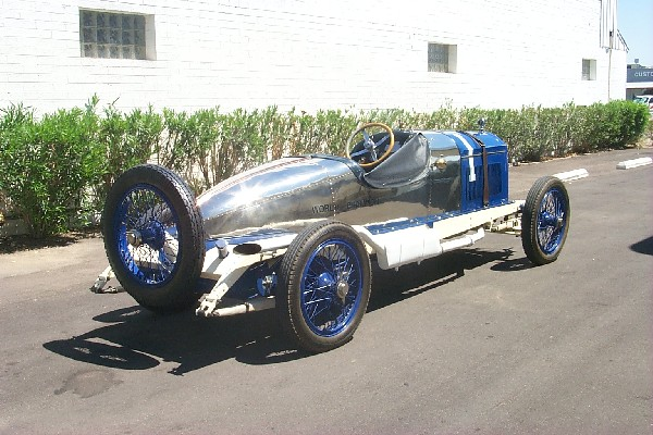 1920 PAIGE 6-66 5.4 LITER RECORD CAR - Rear 3/4 - 18493