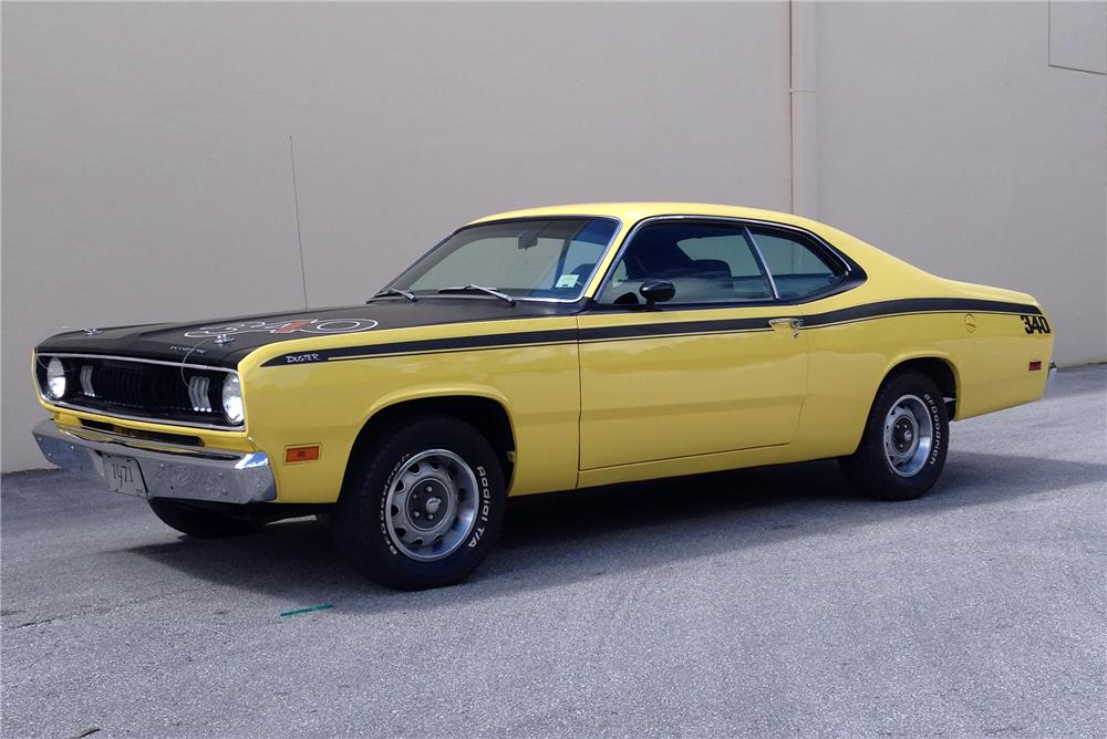 1971 PLYMOUTH DUSTER HARDTOP - 184952