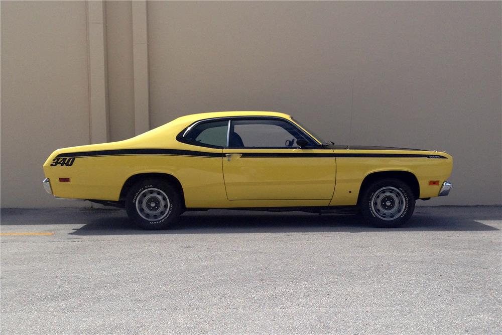 1971 PLYMOUTH DUSTER HARDTOP - Side Profile - 184952