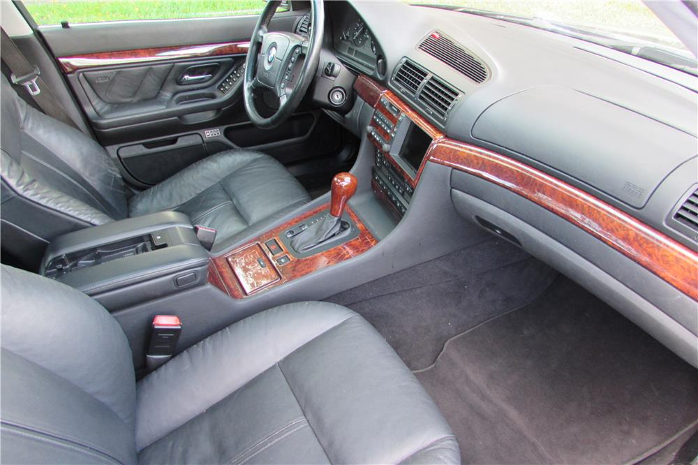 2001 BMW 740IL SEDAN - Interior - 184961