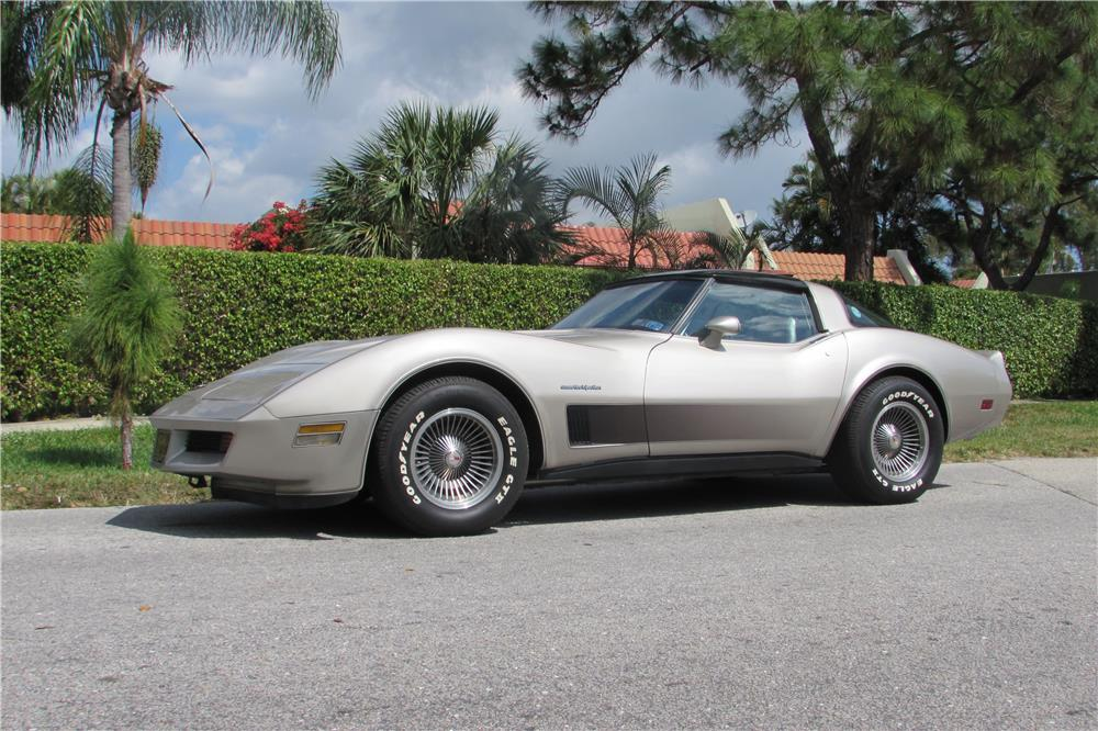 1982 CHEVROLET CORVETTE COLLECTOR'S EDITION - Front 3/4 - 184963