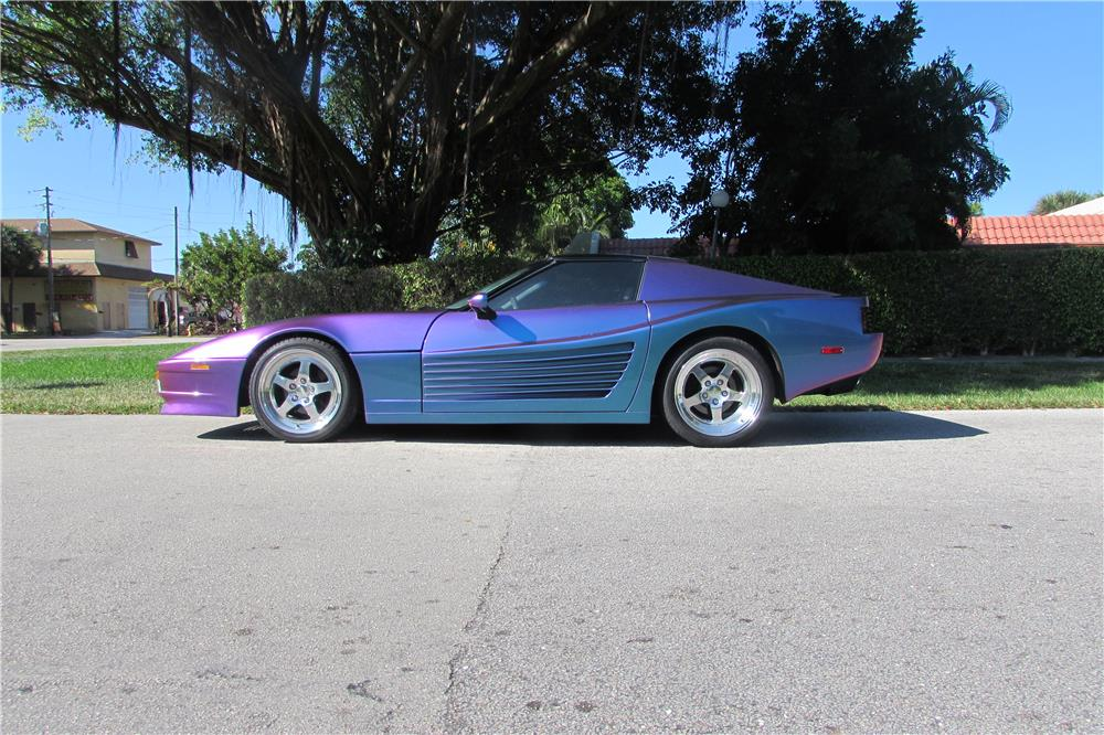 1985 CHEVROLET CORVETTE CUSTOM - Side Profile - 184965